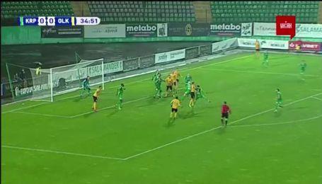 Карпати - Олександрія 0:1. Відео голу Третьякова