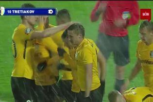 Карпаты - Александрия - 0:2. Видео гола Третьякова