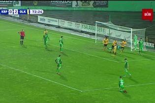 Карпаты - Александрия - 0:3. Видео гола Ситало
