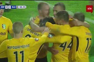 Карпаты - Александрия - 0:4. Видео гола Банады