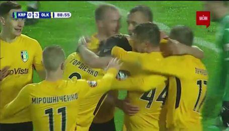 Карпати - Олександрія - 0:4. Відео голу Банади