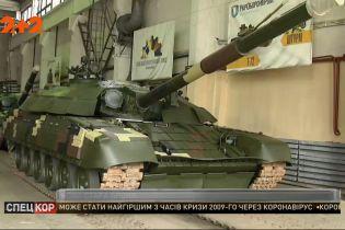 В Вооруженные силы Украины передали последние шесть танков Т-72