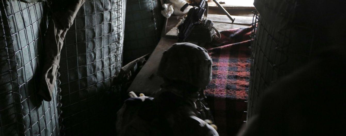 На Донбассе снайперы боевиков обстреляли украинские позиции вблизи Марьинки: есть раненый