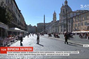 Из-за коронавируса Италия закрывает школы и отменяет футбольные матчи