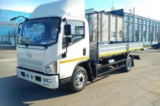 В Украине стартовали продажи китайских грузовиков FAW за $27 тысяч