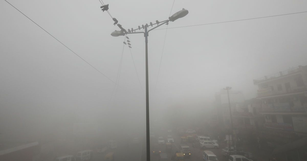 Красный уровень опасности: загрязнение воздуха в Киеве превышает норму в семь раз