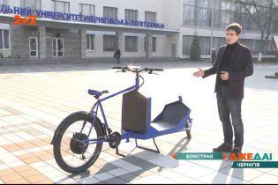 В Чернигове студенты разработали уникальную электрическую машину, которая не требует топлива