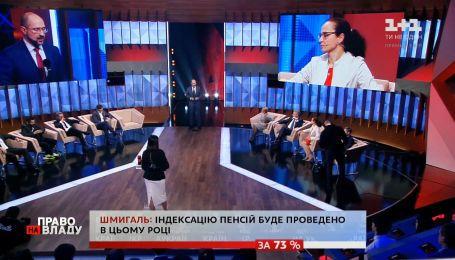 Денис Шмыгаль отметил, что вопрос мира на оккупированных территориях - это приоритетная задача