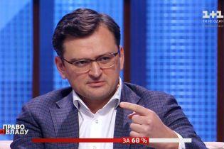 Дмитрий Кулеба рассказал о восстановлении мира на оккупированных территориях и обмен пленными