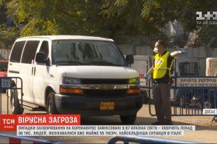 Ізраїль обмежує в'їзд на свою територію для туристів із 8 країн через коронавірус