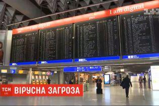 Небезпека поширення коронавірусу: авіалінії продовжують скасовувати рейси