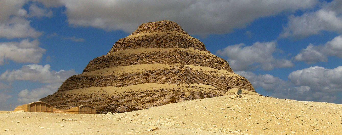 Найдавнішу піраміду Єгипту відкрили для туристів