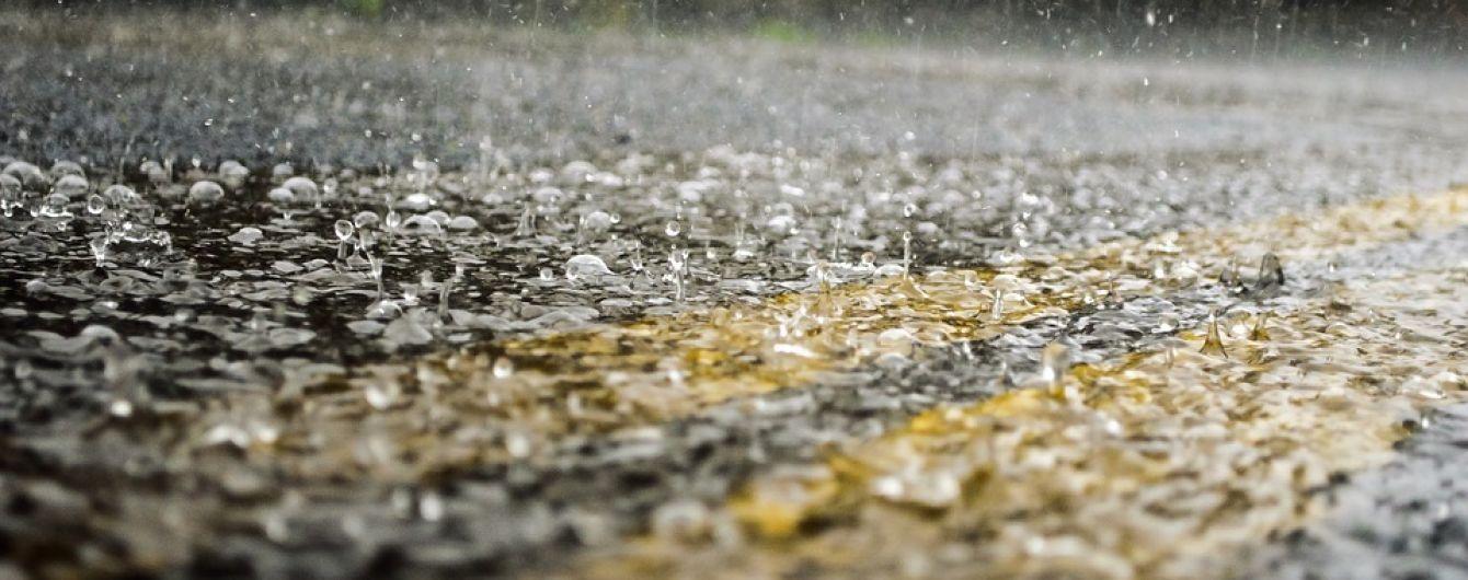 В Моршине ливень затопил четыре санатория