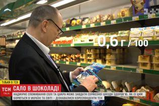 """""""Сало в шоколаді"""": як в Україні та світі борються з надмірним споживанням солі та цукру"""
