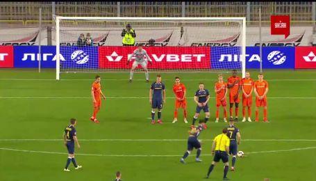 Днепр-1 – Мариуполь - 2:0. Видео гола Булецы