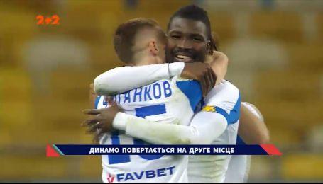 Динамо — Колос — 2:0. Відеоогляд матчу