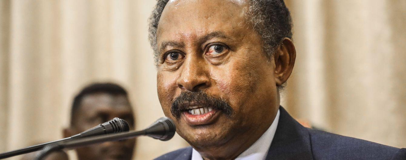 В Судане совершили покушение на премьера страны