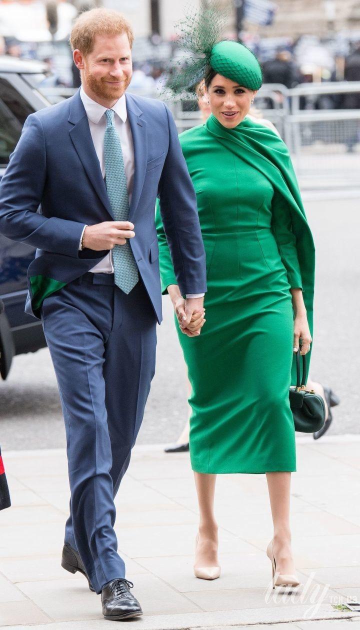 Керцогиня Меган и принц Гарри