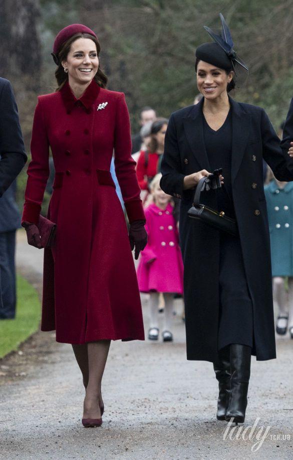 Герцогиня Кэтрин и герцогиня Меган