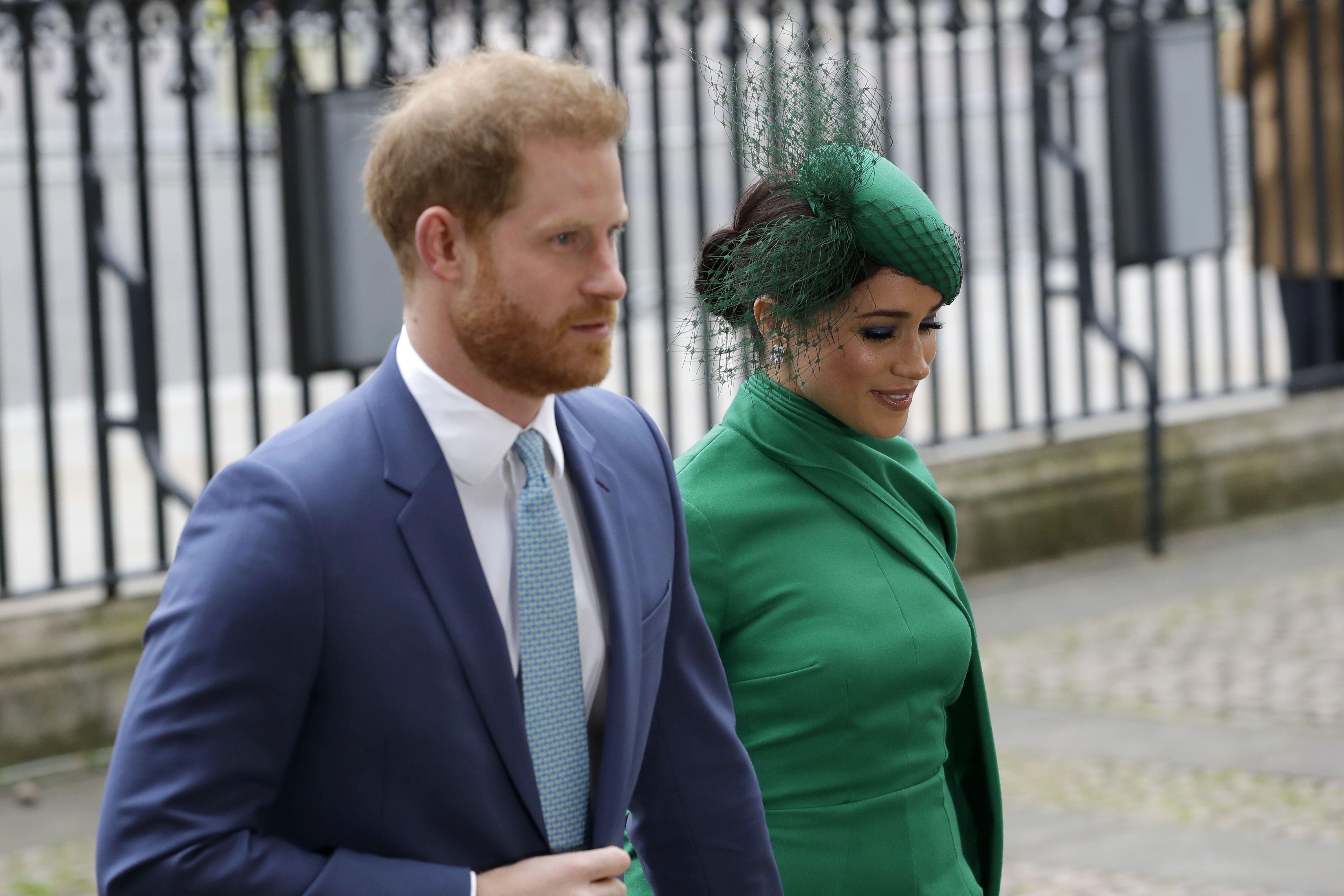 Принц Гаррі та Меган Маркл на службі у Вестмінстерському абатстві_1