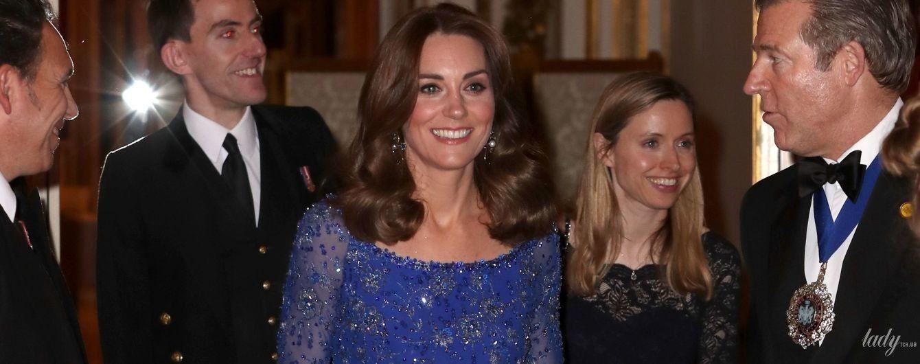 Знову повторила образ: герцогиня Кембриджська приїхала на прийом до палацу в старій сукні