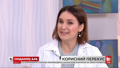 Яким має бути корисний перекус – розповідає лікарка Наталія Самойленко