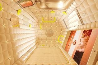 Дизайнер разработал капсулу для проживания в космосе: как будет выглядеть отельный номер на МКС