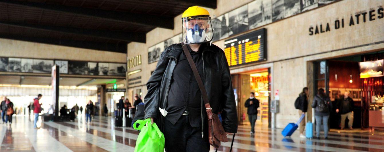 Україна евакуює своїх громадян з Італії через спалах коронавірусу