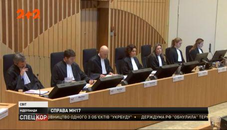 В Нидерландах продолжается слушание по делу катастрофы рейса MH17