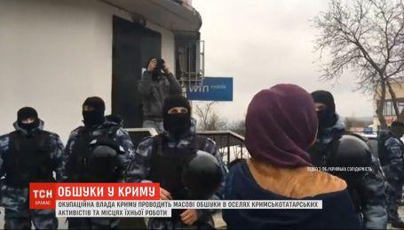 В Бахчисарае оккупанты ворвались в дома крымскотатарских активистов и провели обыски