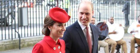Вийшли на роботу: герцогиня Кембриджська і принц Вільям поспілкувалися з учнями однієї з британських шкіл