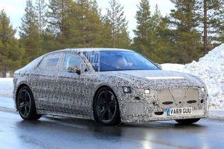 Автошпигуни зняли електрокар Jaguar XJ на тестах