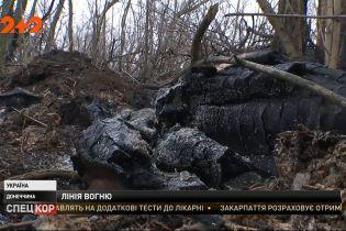На Горлівському напрямку окупанти намагаються викурити українських військових з позицій вогнем
