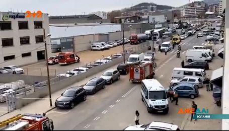 В промышленной зоне Барселоны взорвался резервуар на химическом заводе – погиб один человек
