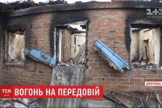 Окупанти на фронті намагаються вогнем вибити українських захисників із позицій