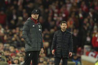 """Клопп раскритиковал тактику """"Атлетико"""": Они могли бы играть в настоящий футбол"""