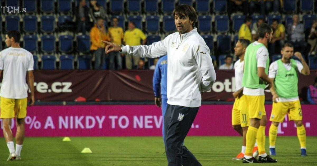 Шовковский пошел на курсы тренеров