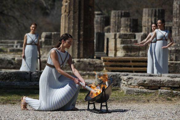 Запаленнія олімпійського вогню