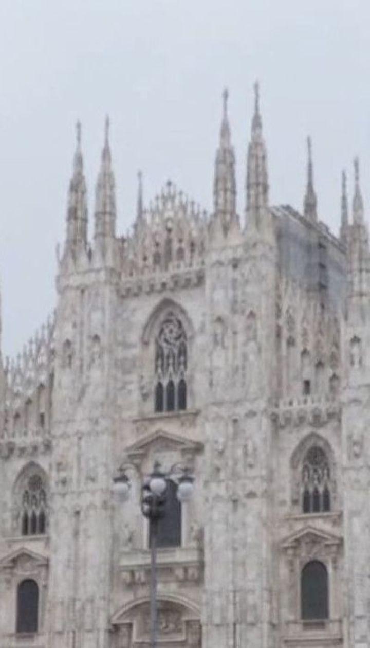Італія залишається першою в Європі за темпами зараження коронавірусною інфекцією