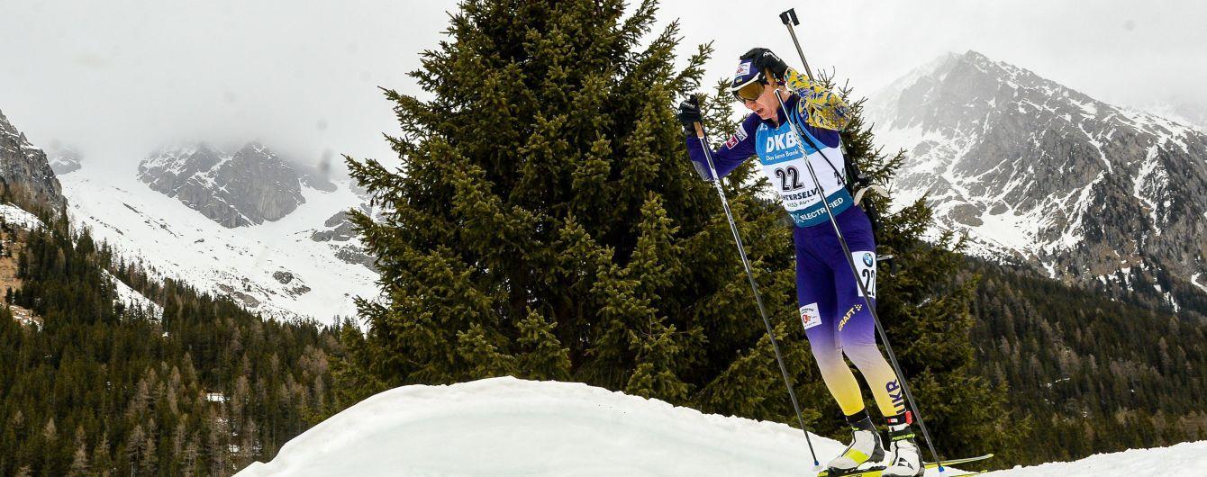 Джима відкриє для українок спринт на Кубку світу з біатлону в Контіолахті