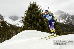 Джима откроет для украинок спринт на Кубке мира по биатлону в Контиолахти