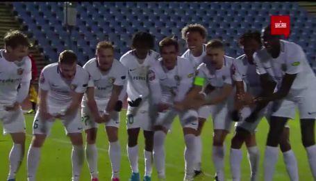 Десна - Ворскла - 0:1. Відео голу Васіна з пенальті