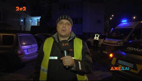 Житель столичной Борщаговки выпрыгнул из окна многоэтажного дома