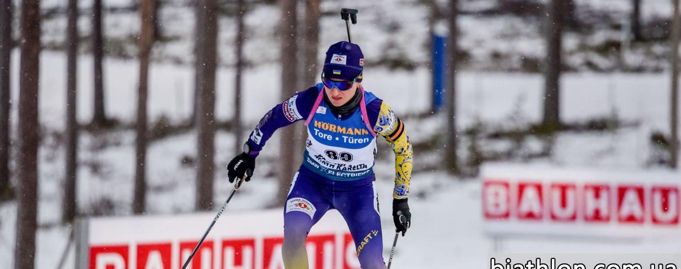 Валя Семеренко фінішувала 14-ю у спринті Кубка світу в Фінляндії, Херрман тріумфувала