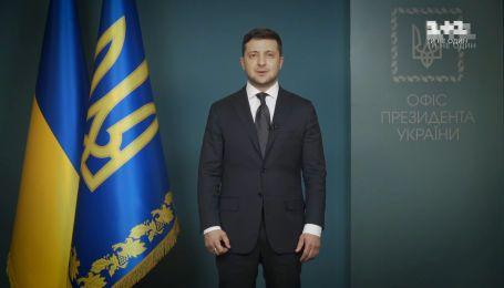 Звернення Зеленського до українців щодо поширення коронавірусу