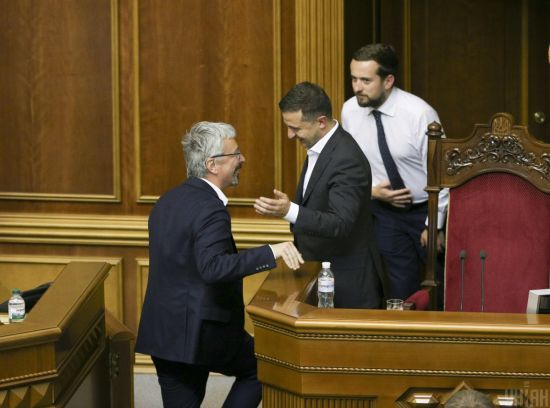 """Нардепи від """"Слуги народу"""" оприлюднили звернення щодо дій влади, ситуації з Кримом та Донбасом"""