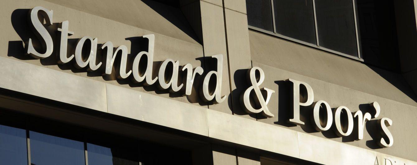 """S&P оставило рейтинг Украины на уровне """"В"""" со стабильным прогнозом"""