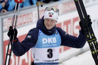 Норвежец Бьо выиграл Кубок мира по биатлону-2019/20