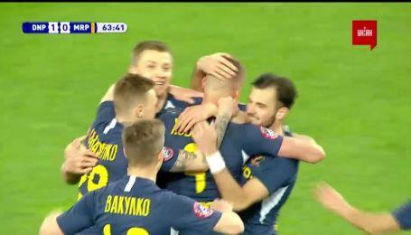 Дніпро-1 – Маріуполь – 1:0. Відео голу Хобленка з пенальті
