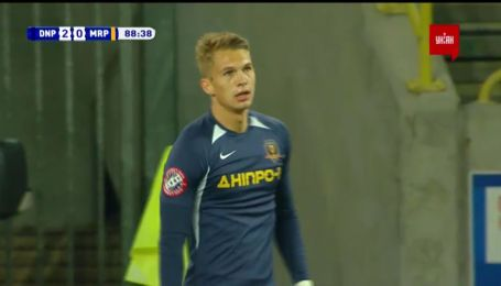 Днепр-1 – Мариуполь - 2:0. Видео гола Супряги